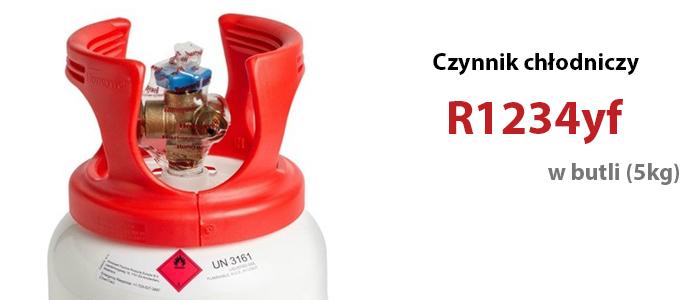 Czynnik chłodniczy R1234yf w butli (5kg)