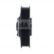 CT06HA20 - Sprzęgło kompletne do sprężarki HALLA DOOWON DVE12 124mm/6PK