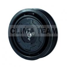 Sprzęgło kompletne do sprężarki DENSO / CITROEN 124mm/6PK