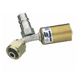 5b)Złączka kątowa (45 stopni) do przewodu o średnicy wew. 8mm (5