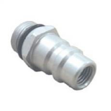 3b) Adapter niskiego ciśnienia R134a (aluminium) MERCEDES / BMW
