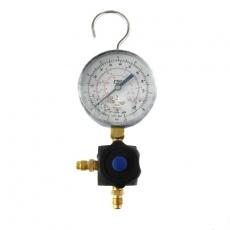 Listwa jednozaworowa z manometrem na niskie ciśnienie