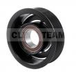 CT06CL17 - Sprzęgło kompletne do sprężarki CALSONIC CR08 NISSAN 104mm/7PK
