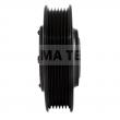 CT06DN130 - Sprzęgło kompletne do sprężarki DENSO / MERCEDES 122mm/6PK