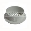 D90 - Wylot powietrza D90 biały prosty WEBASTO