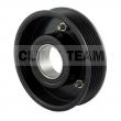 CT06DL18 - Sprzęgło kompletne do sprężarki DELPHI DH5 / SEAT 110mm/6PK