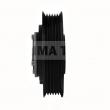 CT06HA21 - Sprzęgło kompletne do sprężarki HALLA DOOWON DVE16 114mm/6PK