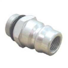 3a) Adapter wysokiego ciśnienia R134a (aluminium) MERCEDES / BMW
