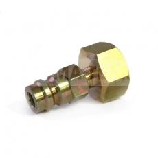 Redukcja do butli R134a z adapterem wysokiego ciśnienia