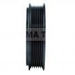 CT06DL25 - Sprzęgło kompletne do sprężarki DELPHI / CHEVROLET 125mm/6PK
