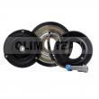 CT06DL12 - Sprzęgło kompletne do sprężarki DELPHI / CHEVROLET 122mm/6PK